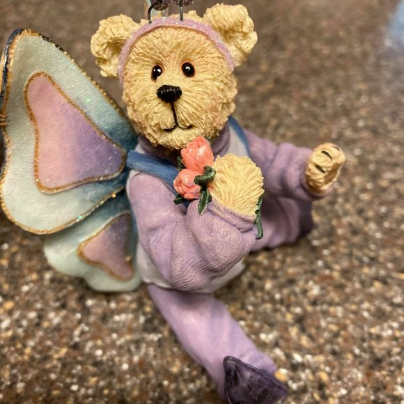 Boyds The Shoe Box Bears Figurine Flutterby